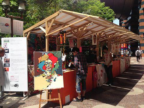 アートマーケットinキャナルシティ博多
