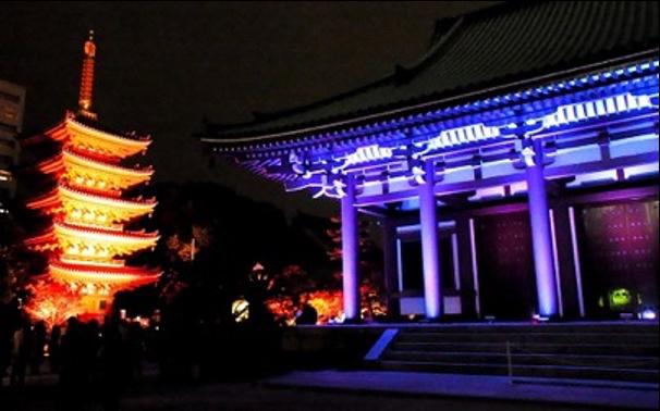 博多ライトアップウォーク<br> Hakata Light Up Walk