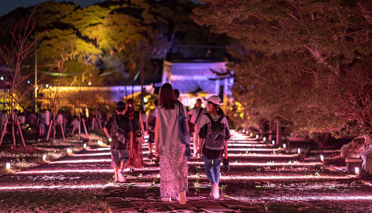 平戸、海のものがたり 〜 平⼾城再築城300周年記念事業 〜 光と音が織りなす幻想祭 <br>Hirado Castle 300th Year Anniversary Event