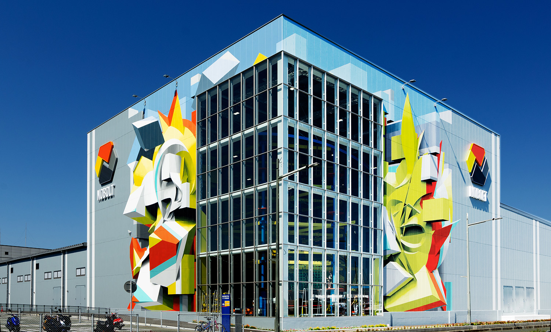 ノボルト(NOBOLT) 外壁アート<br>NOBOLT 3D Murals